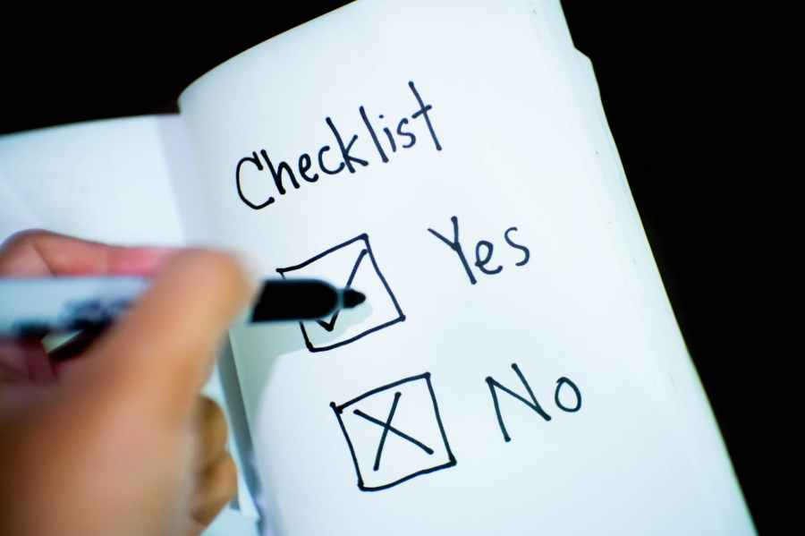 banking business checklist commerce